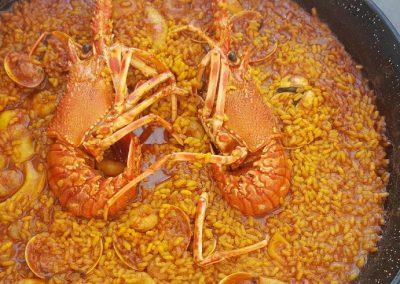 receta alicante ciudad del arroz. arroz meloso con langosta
