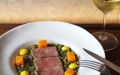 Recepta d'Arròs melós amb ventresca de tonyina roja