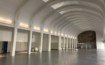 El Hall del Edificio Séneca de la antigua Estación de Autobuses se convierte en el nuevo espacio de celebración de eventos de la ciudad de Alicante