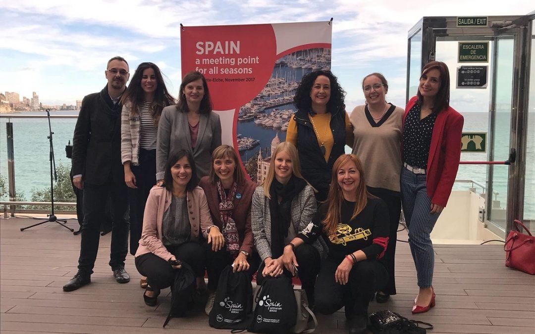 Alicante sede de las 'Jornadas Inversas para el Mercado Belga´ destinadas a la captación del turismo de negocios