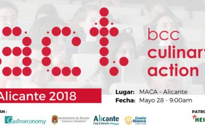 Alicante acoge la jornada Culinary Action! el 28 de mayo en el Museo MACA
