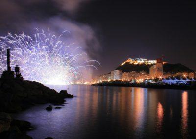 Concurso Internacional de Fuegos Artificales. Hogueras de San Juan